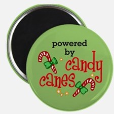 Powered by Candy Canes Magnet