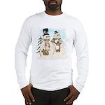 Gingerbread Snowmen Long Sleeve T-Shirt