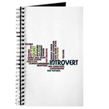Introvert Strengths Word Cloud 2 Journal