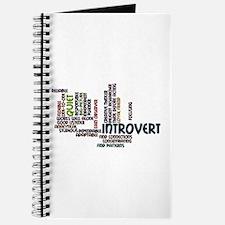 Introvert Strengths Word Cloud 2 Journal