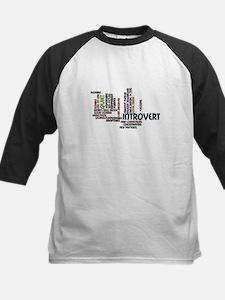 Introvert Strengths Word Cloud 2 Baseball Jersey