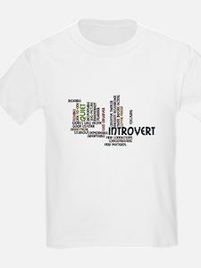 Introvert Strengths Word Cloud 2 T-Shirt