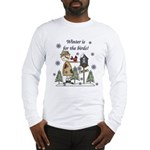 Winter's For the Birds Long Sleeve T-Shirt