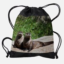 otter1calprt Drawstring Bag