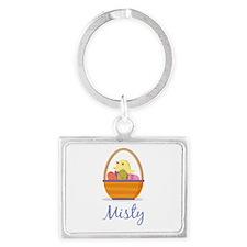 Easter Basket Misty Keychains