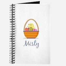 Easter Basket Misty Journal