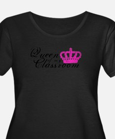Queen of my Classroom Plus Size T-Shirt