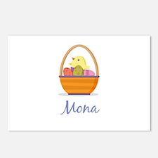 Easter Basket Mona Postcards (Package of 8)