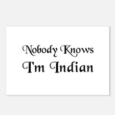 The Indian Postcards (Package of 8)