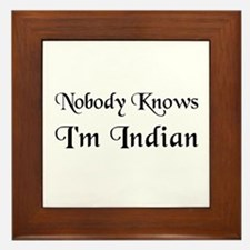 The Indian Framed Tile