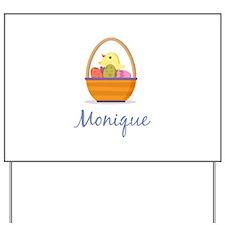 Easter Basket Monique Yard Sign