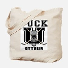 Ottawa Canada Hockey Tote Bag