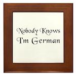 The German Framed Tile