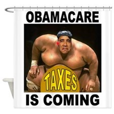 OBAMACARE Shower Curtain