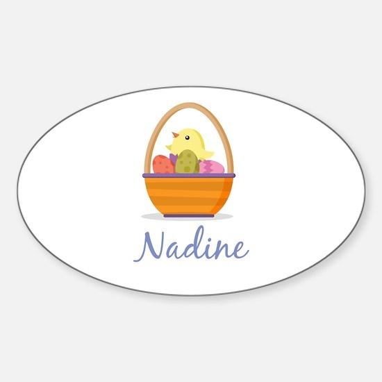 Easter Basket Nadine Decal