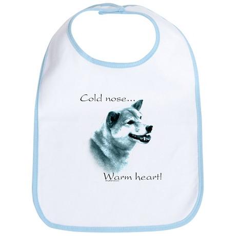 Shiba Warm Heart Bib