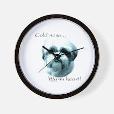 Shih Tzu Warm Heart Wall Clock