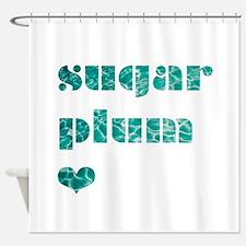 sugarplum Shower Curtain