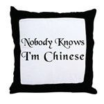 The Chinese Throw Pillow