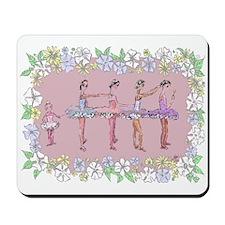 Little Ballerinas Backstage Mousepad