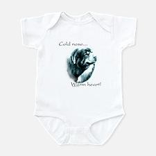 Tibetan Mastiff Warm Heart Infant Bodysuit