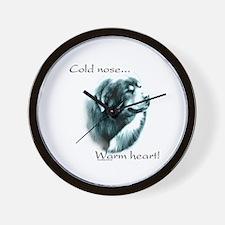 Tibetan Mastiff Warm Heart Wall Clock