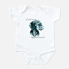 Vizsla Warm Heart Infant Bodysuit
