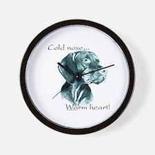 Vizsla Warm Heart Wall Clock