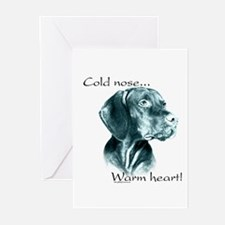 Vizsla Warm Heart Greeting Cards (Pk of 10)