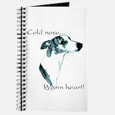 Whippet Warm Heart Journal