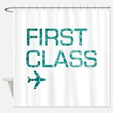 firstclass Shower Curtain
