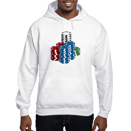 High stack hoodie