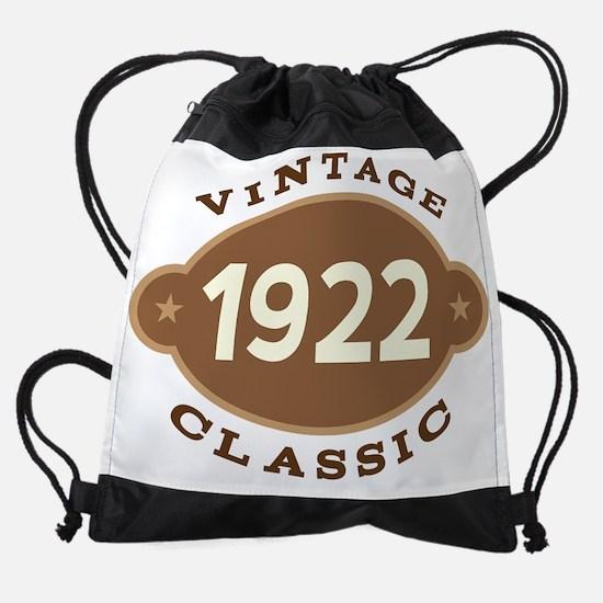 1922 Birth Year Birthday Drawstring Bag