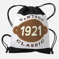 1921 Birth Year Birthday Drawstring Bag