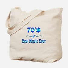 70s Best Music Tote Bag