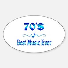 70s Best Music Decal