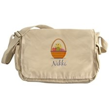 Easter Basket Nikki Messenger Bag
