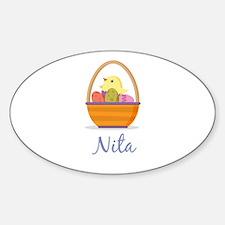 Easter Basket Nita Decal