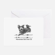 Havanese Agility Greeting Cards (Pk of 10)