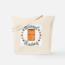 Retro Barrel Racing Tote Bag