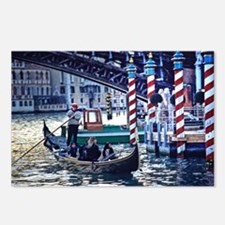 Gondola on Grand Canal in Ven Postcards (Package o