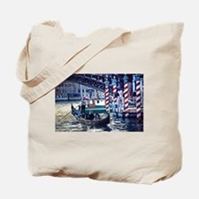 Gondola on Grand Canal in Ven Tote Bag