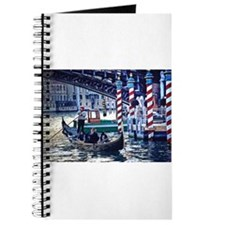 Gondola on Grand Canal in Ven Journal