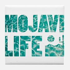 mojave life Tile Coaster