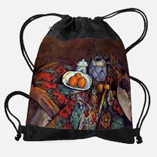 Still Life with Oranges - Paul Ceza Drawstring Bag