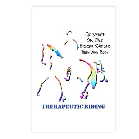 Therapeutic Riding Postcards (Package of