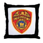 Suffolk Police Throw Pillow