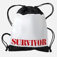 Knee Surgery Survivor Drawstring Bag