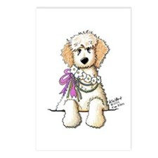 Victorian Cream Doodle Postcards (Package of 8)