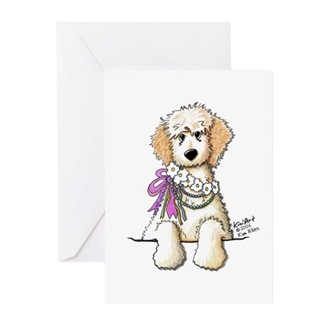 Victorian Cream Doodle Greeting Cards (Package of